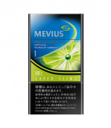 MEVIUS PREMIUM MENTHOL OPTION MUSCAT GREEN 1  100'S SLIM